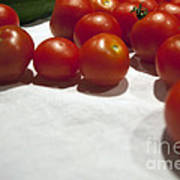 Tomato And Cucumber 1 Art Print