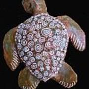 Toni The Turtle Art Print