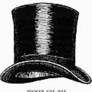 Top Hat, 1900 Art Print