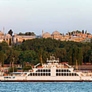 Topkapi Palace In Istanbul Art Print