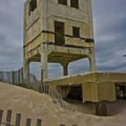 Topsail Island Observation Tower 6 Art Print