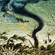 Tornado, 19th Century Art Print