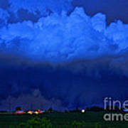 Tornado Over Madison 4 Art Print
