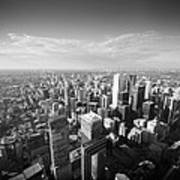 Toronto From Above Art Print