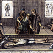 Torture, 16th Century Art Print