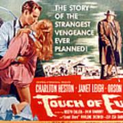 Touch Of Evil, Charlton Heston, Janet Print by Everett