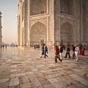 Touring Taj Art Print