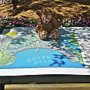 Tourist Bear Art Print