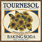 Tournesol Baking Soda Art Print