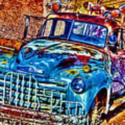 Tow Truck Art Print