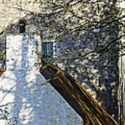Tower And Thatch Art Print