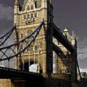 Tower Bridge Art Print by David Pyatt