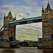 Tower Bridge London Art Print by Heather Applegate