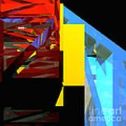 Tower Series 42 Diving Board Art Print