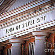 Town Of Silver City New Mexico Art Print