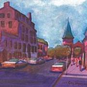 Town With Colors Art Print