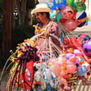 Toy Vender In San Jose Del Cabo Mexico Art Print