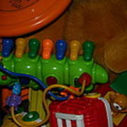 Toys Toys Toys Art Print