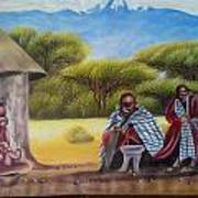 Traditional African Men Art Print