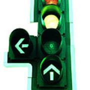 Traffic Lights Art Print by Kevin Curtis