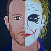 Tragic Jokerman Art Print