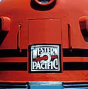 Train Western Pacific Art Print by Garry Gay