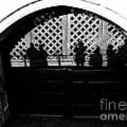Traitors Gate And Ghostly Images  Art Print
