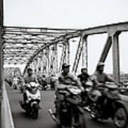 Trang Tien Bridge Hue Art Print