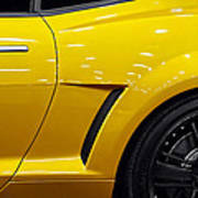Transformers Camaro Art Print