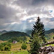 Transylvania Landscape - Romania Art Print