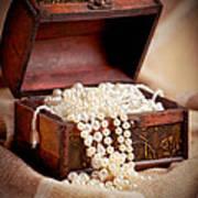 Treasure Chest Print by Gabriela Insuratelu