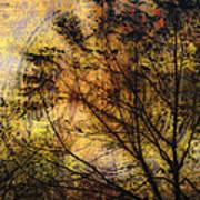 Tree Stamp Art Print