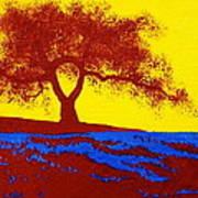 Tree Study 1 Art Print
