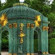 Trellis At Schloss Sanssouci Art Print