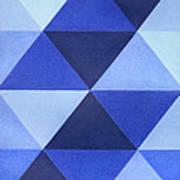 Triangles B8001 Art Print
