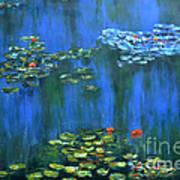 Tribute To Monet 1 Art Print