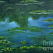 Tribute To Monet 2 Art Print