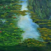 Tribute To Monet 3 Art Print
