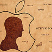 Tribute To Steve Jobs Art Print