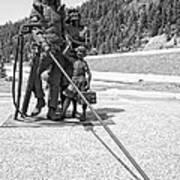 Tribute To The Mining Family - Wallace Idaho Art Print