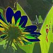 Tricked Leaf Art Print