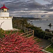 Trinidad Memorial Lighthouse After Storm Art Print