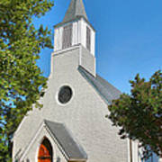 Trinity Episcopal Church I Art Print
