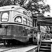 Trolley Car Diner - Philadelphia Art Print
