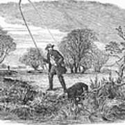 Trolling For Jack, 1850 Art Print
