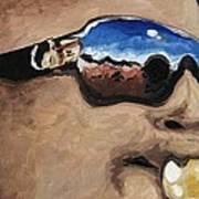 Trombone Shorty At The Jazz Fest Art Print by Terry J Marks Sr