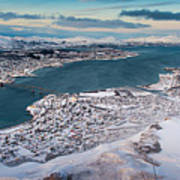 Tromso City Art Print