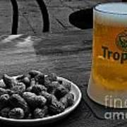 Tropical Beer Art Print