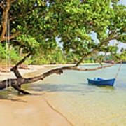 Tropical Island Scenery Art Print