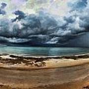 Tropical Seasonal Monsoon Rain V3 Art Print